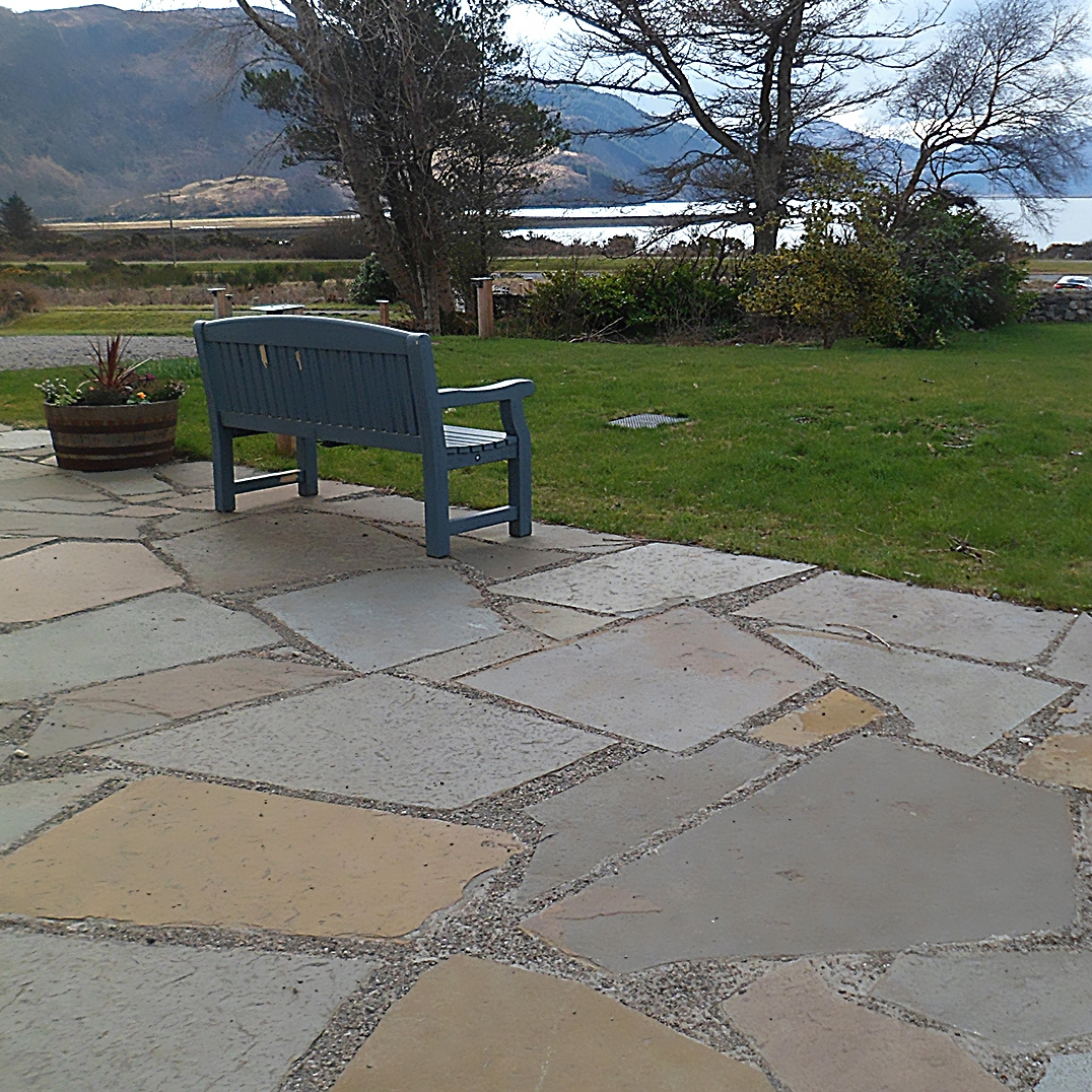 Weathered Riven Paving
