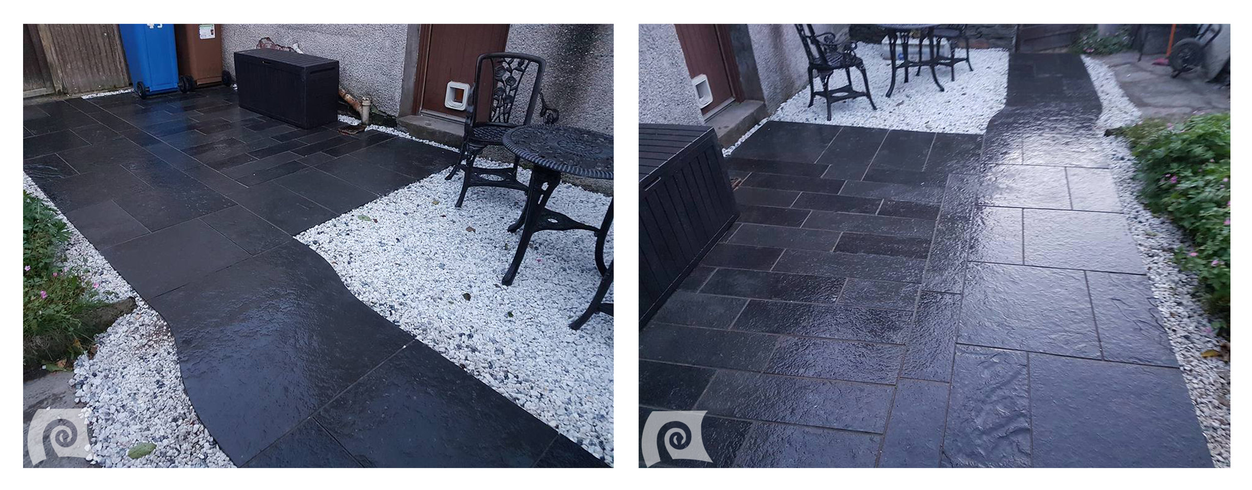(Say who's an ugly patio? Not I! Not I!)