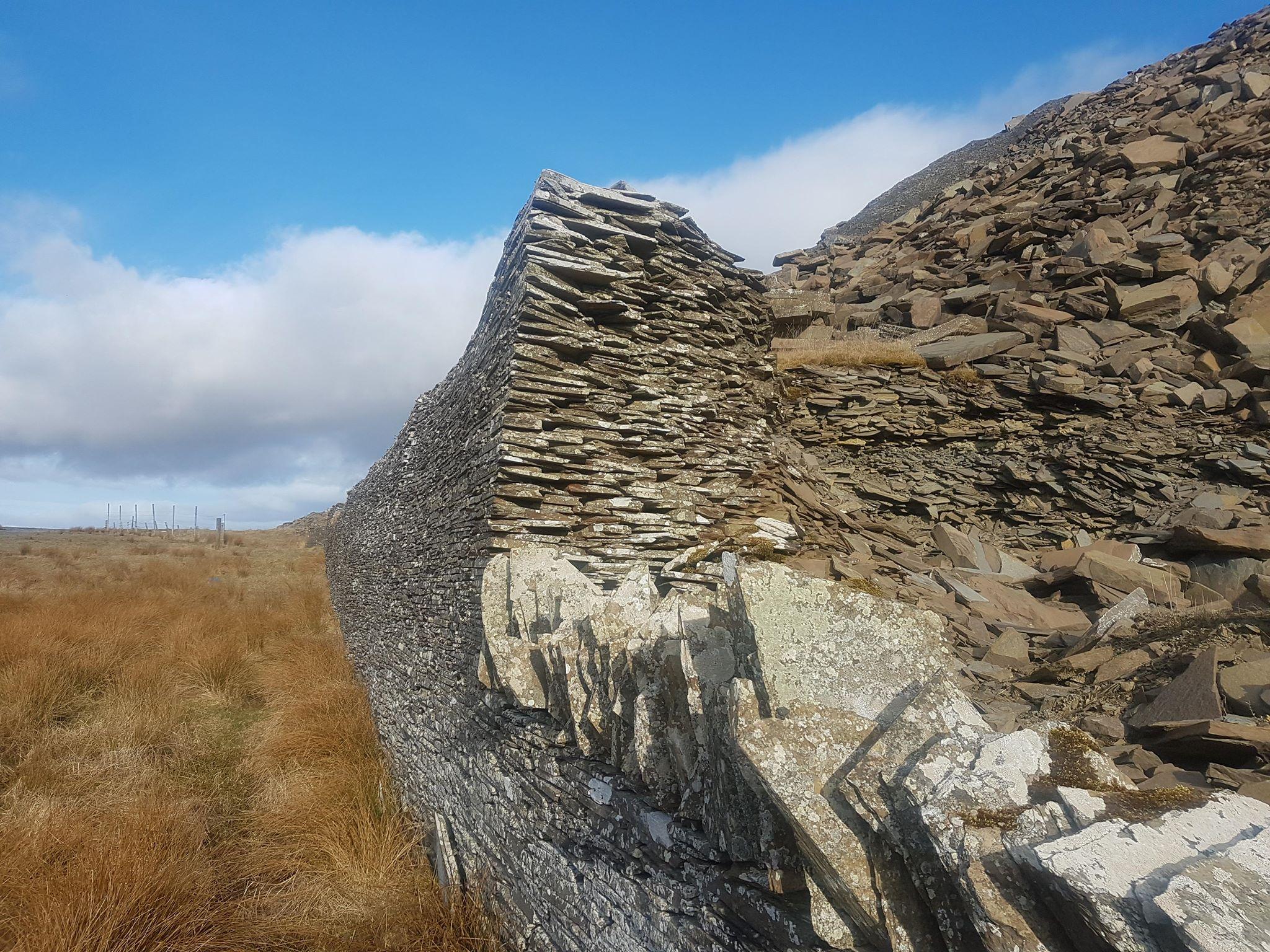 Caithness Flagstone Wall