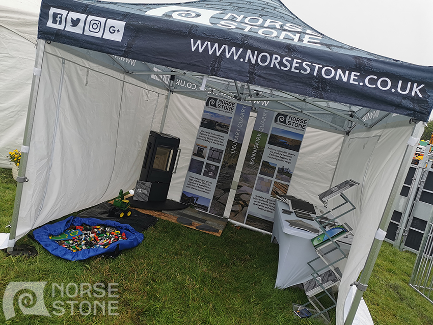 Norse Stone stand at Caithness County Show