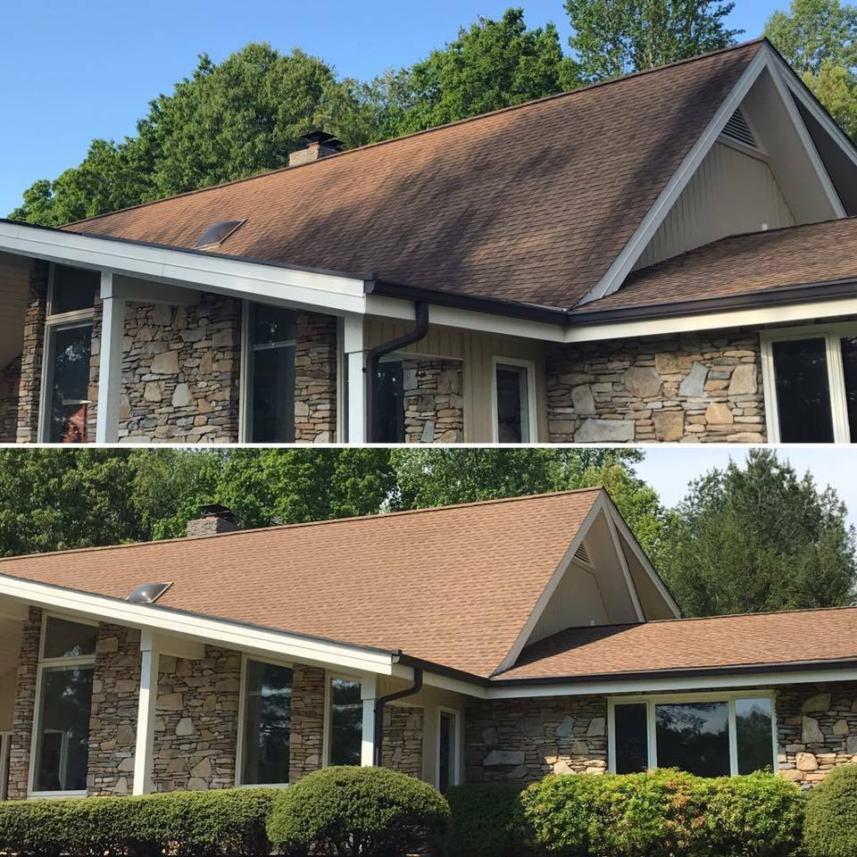 Roof Cleaning   -