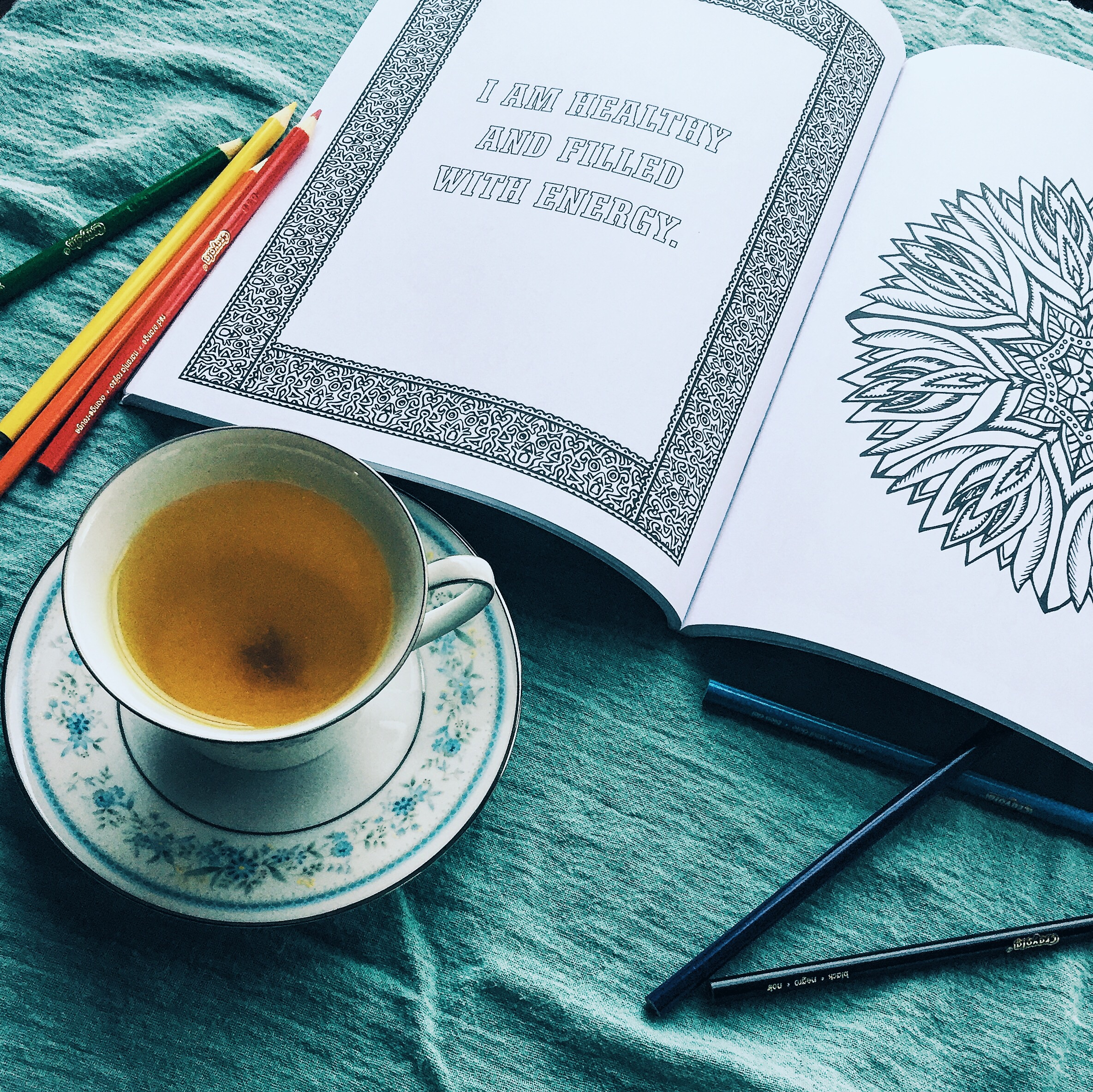 Coloring books and elixirs
