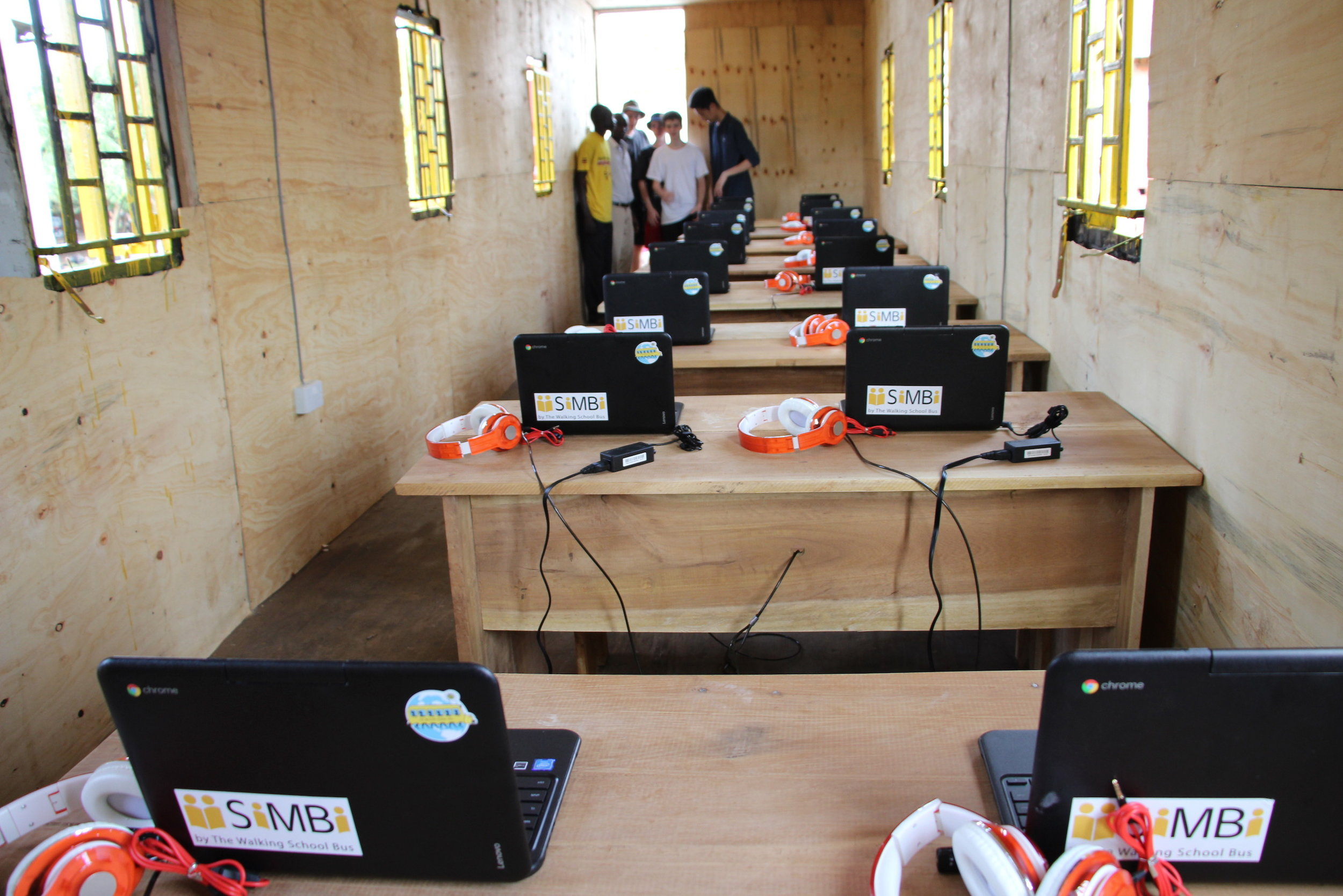 Presenting the SiMBi Classroom!!!  The finishings still require some work but that will be added in the coming days.