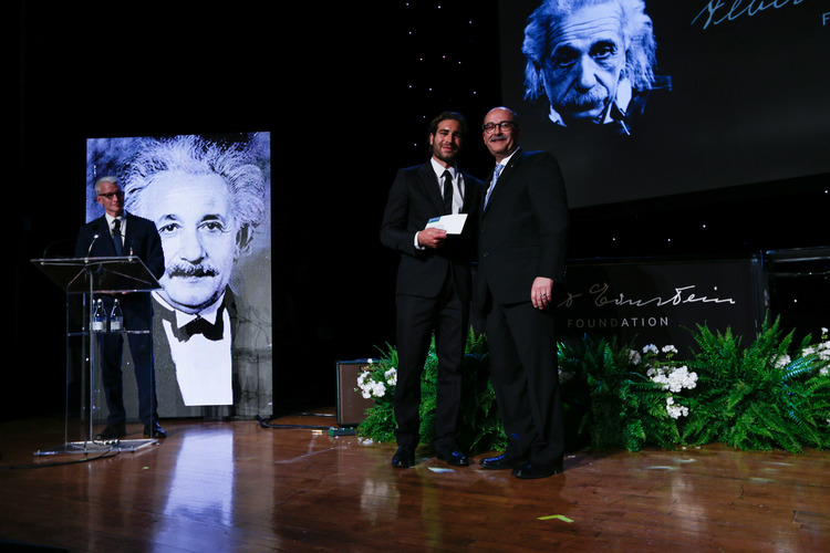 Hebrew U Einstein event honors innovators