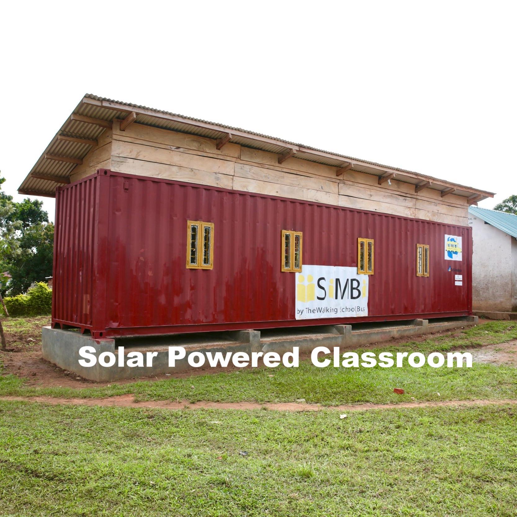 Solar Powered Classroom