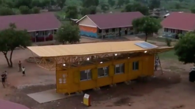 The New BrightBox Classroom introduced to Twajiji Primary School in July 2019