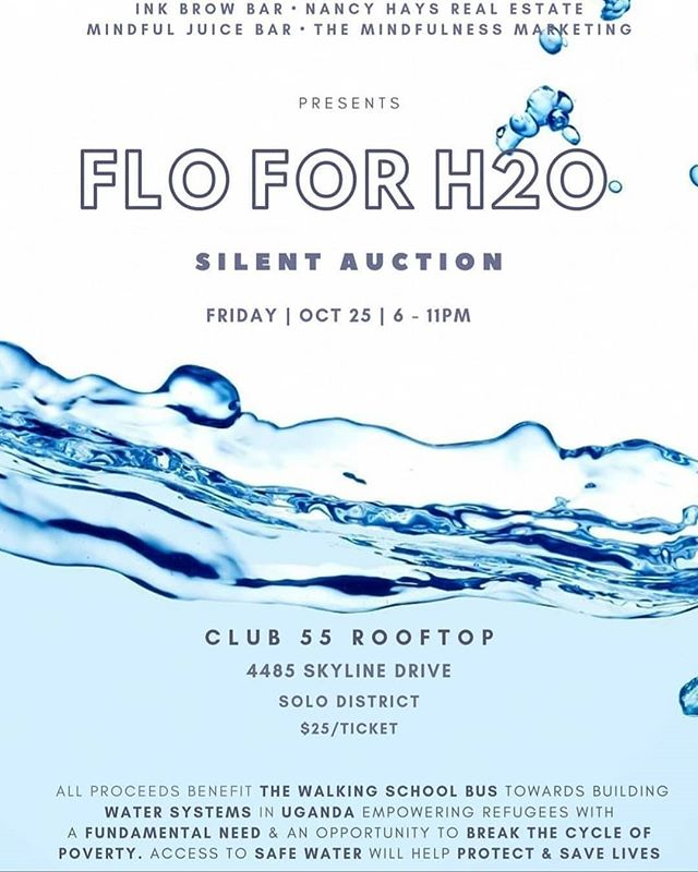 Join us next week at #FloforH20, an event focused on raising funds for #Water Catchment Systems attached to the #BrightBox Classrooms! 💧☀️ Join us for good drink, eats, games, and mingling, all in the name of water and #education!  http://bit.ly/flo4H2O  A special thank you to @themindfulnessmarketing for your motivation and leadership in this unique event to benefit our students in #UNHCR Refugee Settlements.