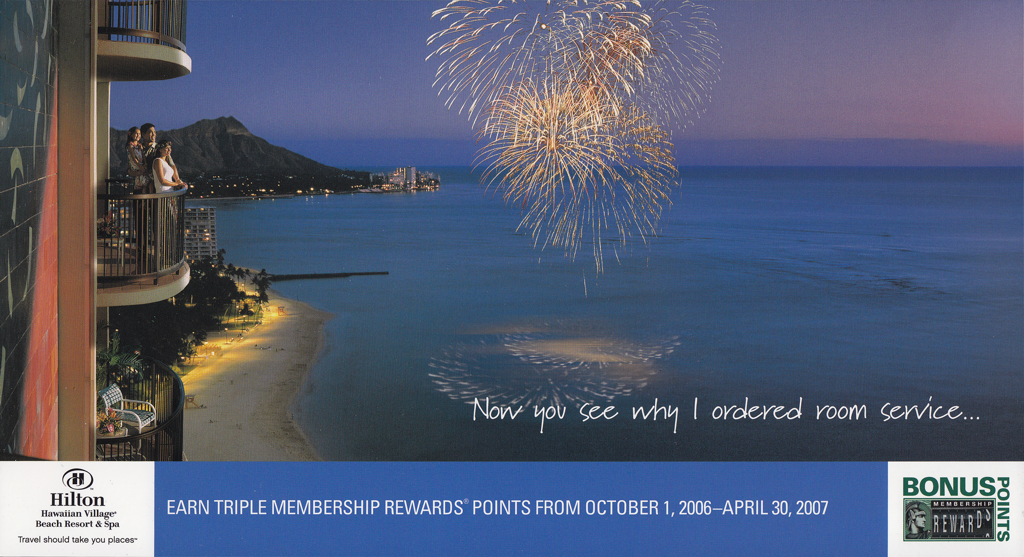 Hilton Hawaii / American Express promotion