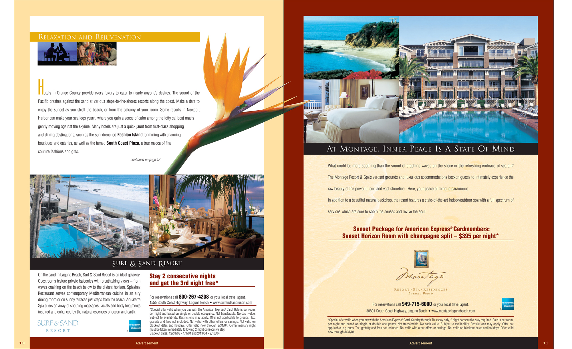 Multi-page direct mail inside spread