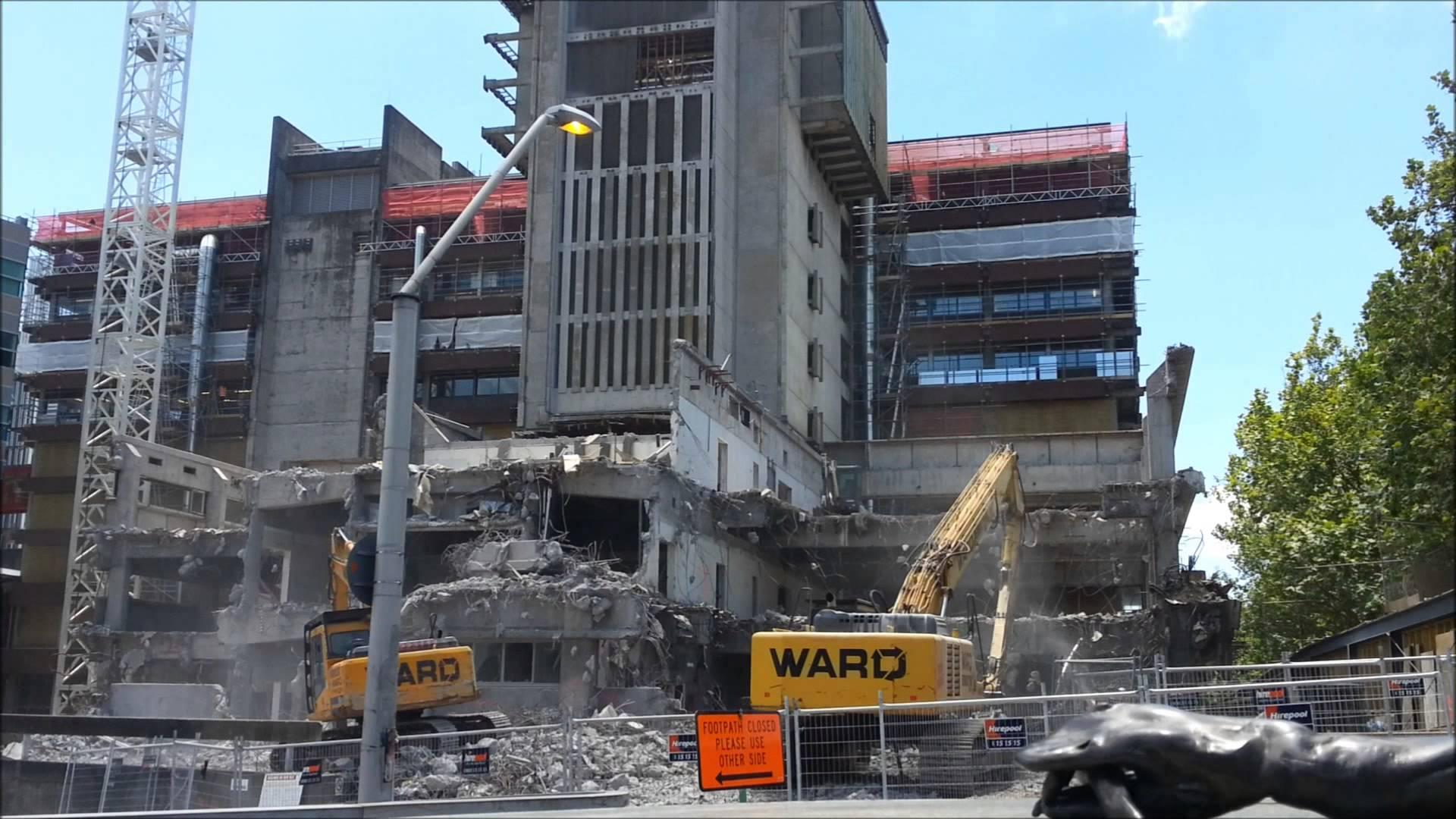 Science Building Demolition