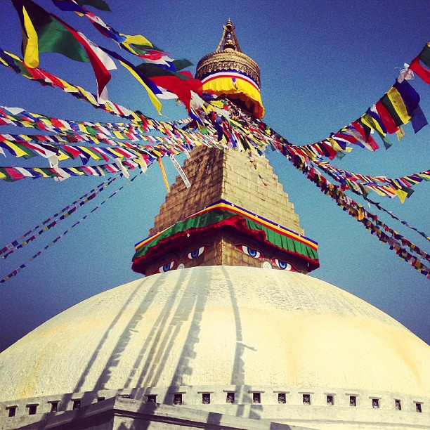 All Stupa'd out.