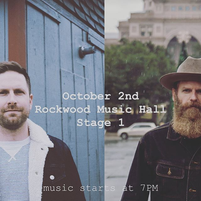 Come hangout with @billbrimer and me at @rockwoodmusichall this Wednesday. Music will start at 7! Don't miss it! #nyc #music #rockwoodmusichall