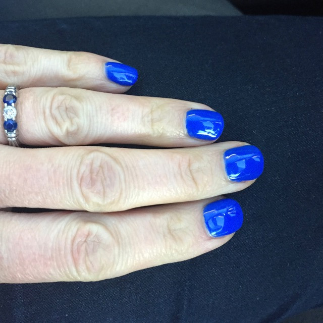 I also got a manicure for the occasion.