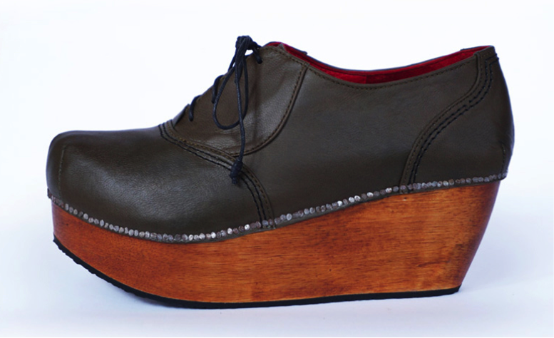 Preston Zly,  Patten Shoe,  Axis collection, A-W 2014