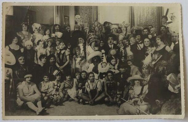 Boris Lipnitzki, Paris,  St Catherine's Day at Maison Paul Poiret, 25 November 1925,  19 x 29 cm,Kahan Family Collection.