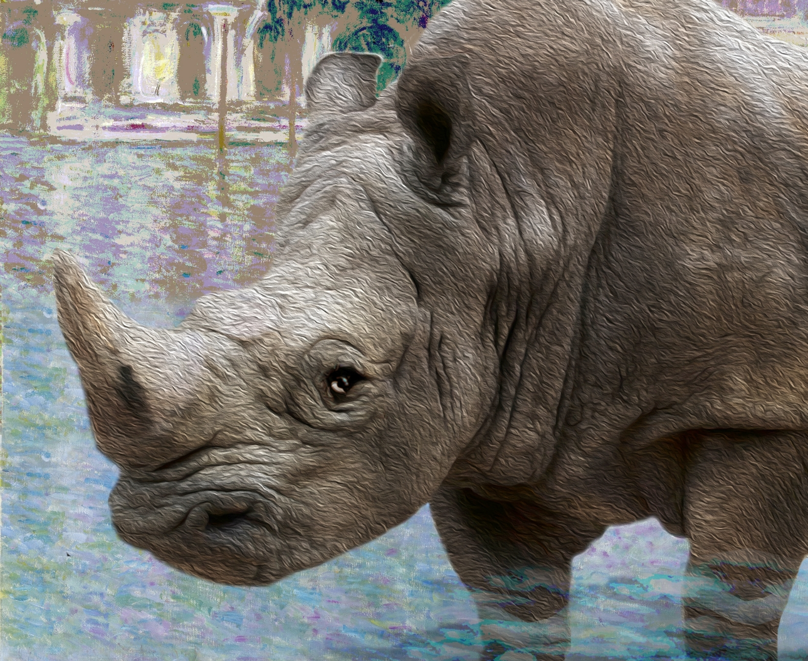 Beauty and the Beast: Venice and the Rhino -