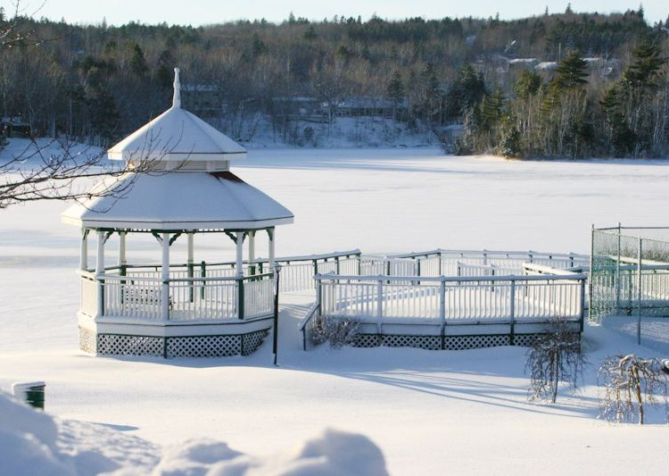 The Inn's Parklands in Winter