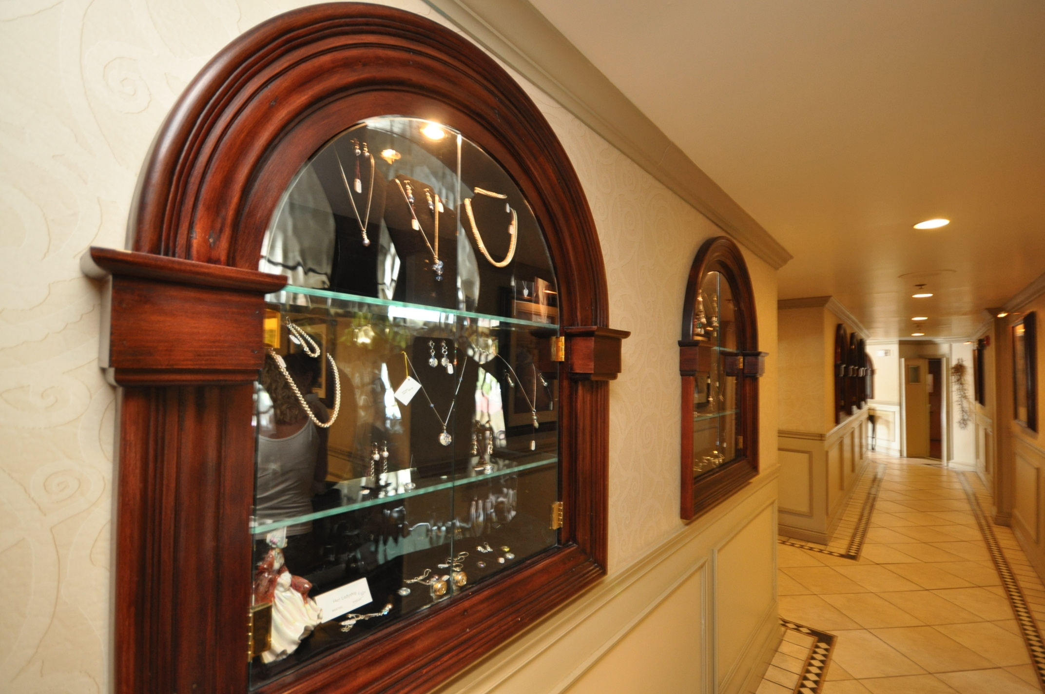 Hallway Jewerly Display Case