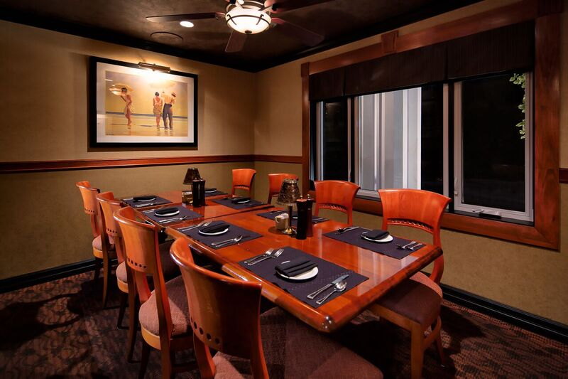 Private Dining Room for 6 to 8 guests