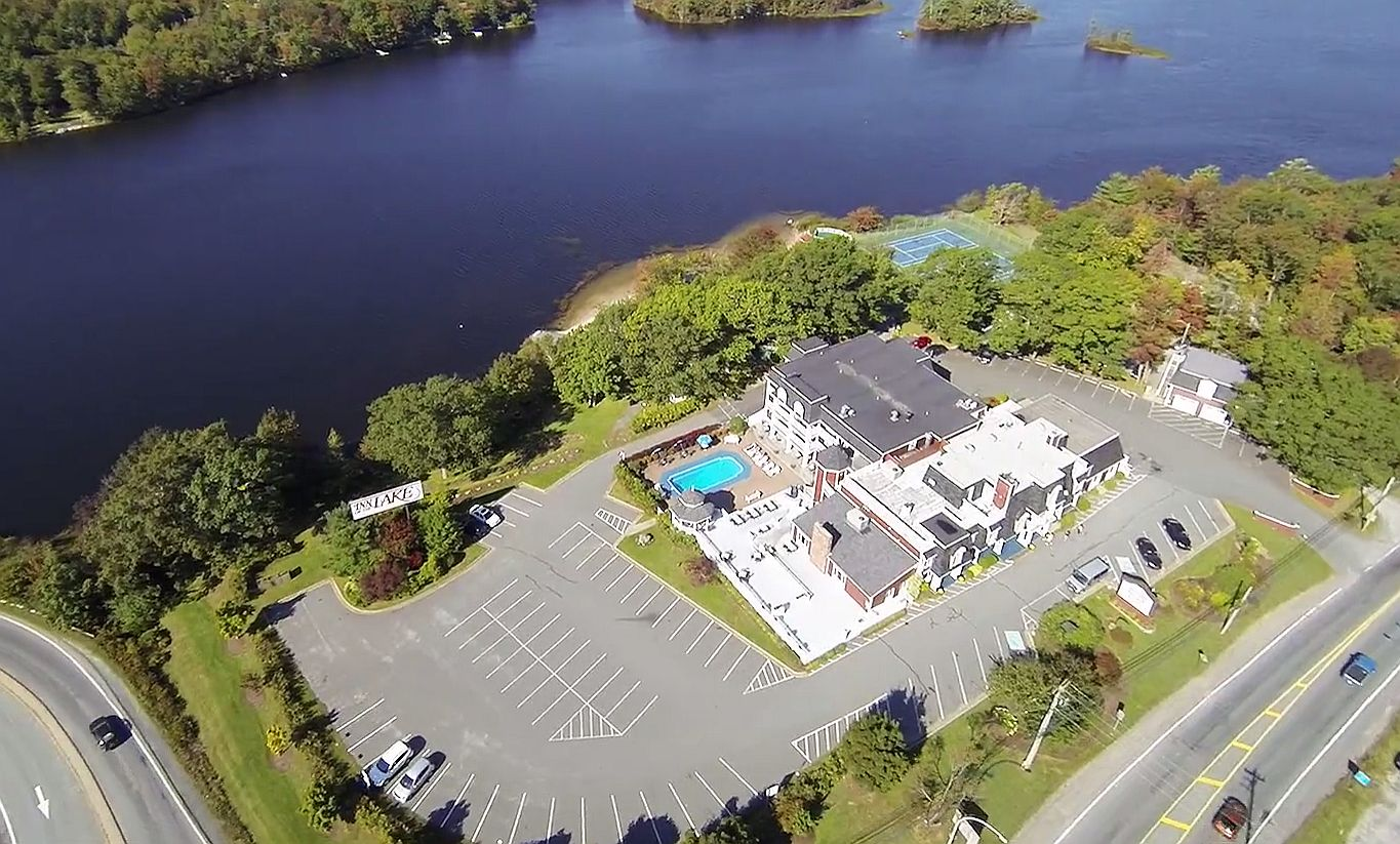 Aerial of the Inn Looking North West