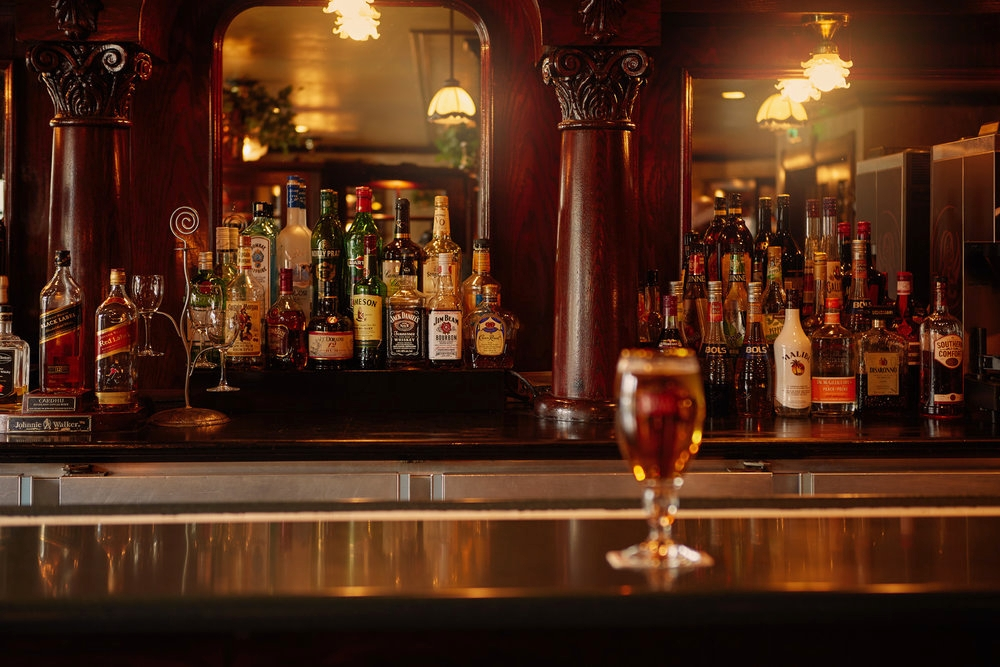 Broad Selection of Beers, Spirits & Wine