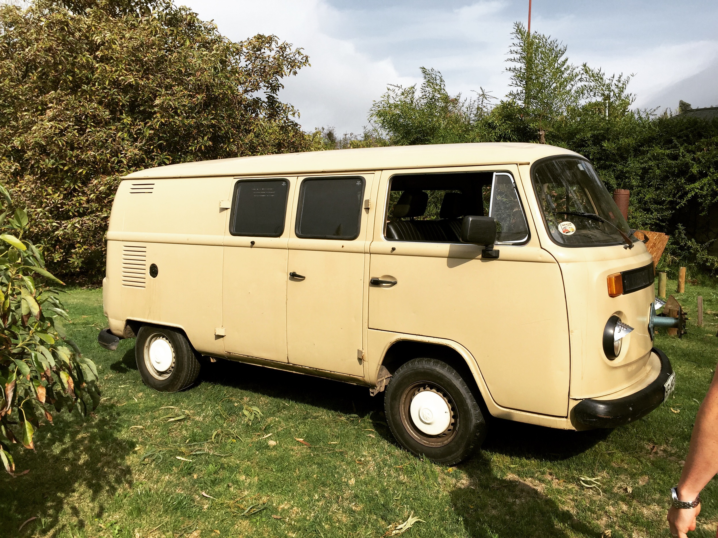Introducing... Lila's Wagen! Or at least until we get to know each other better and we give her another name.