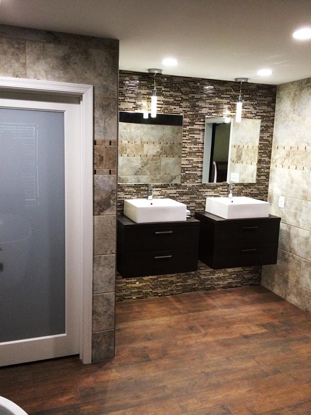 Bath remodel, Myersville MD