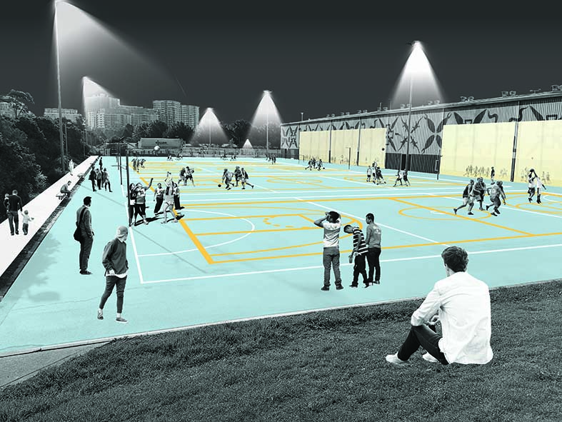 Multi-Use Sports Courts