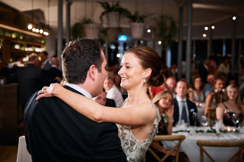 first dance at Centennial Homestead wedding