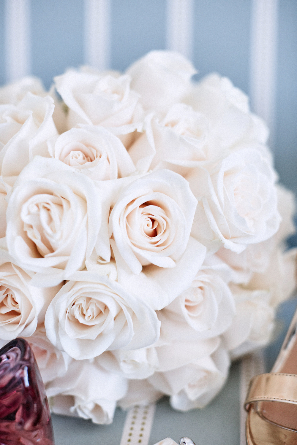 Bouquet of flowers by Blue Mountains wedding photographer Joshua Witheford