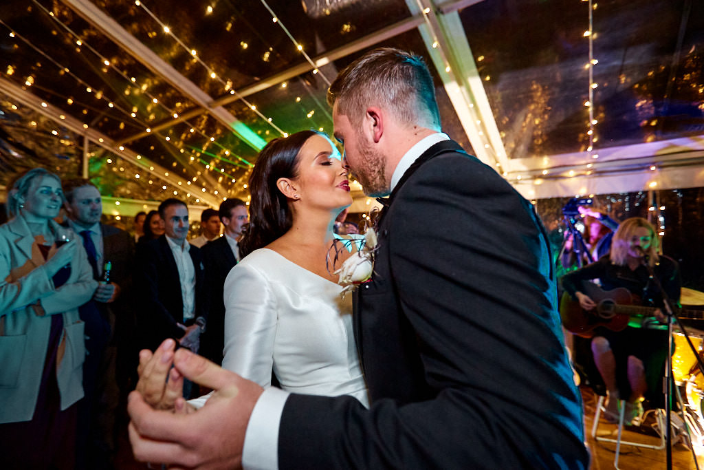 Bride and groom first dance at Worrowing Estate wedding
