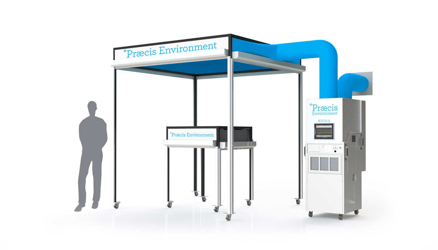 E-5 Complete System    Enclosure Area Up to 6 m²  Enclosure Volume Up to 12 m³