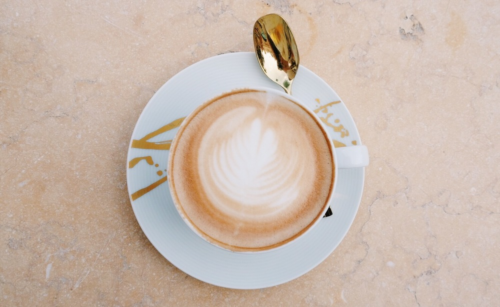 Cappucino at The Four Seasons in Dubai by The Blonde Vagabond.JPG