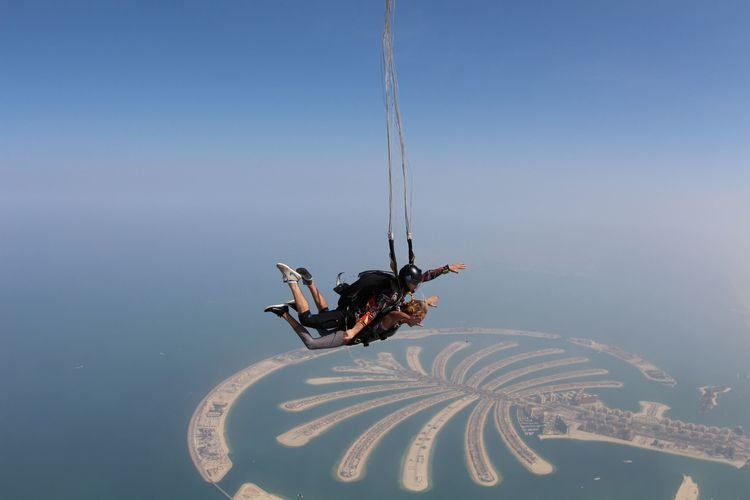 The Blonde Vagabond Skydives the Palm.JPG