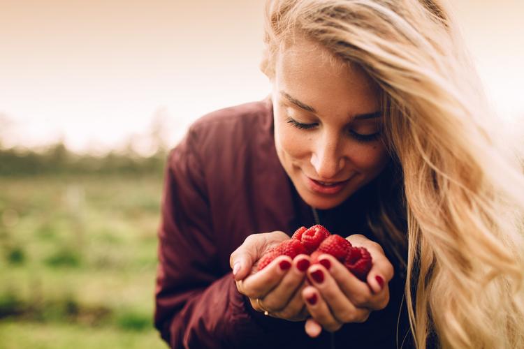 Fresh Picked Raspberries by The Blonde Vagabond:Jordyn Kraemer.jpg