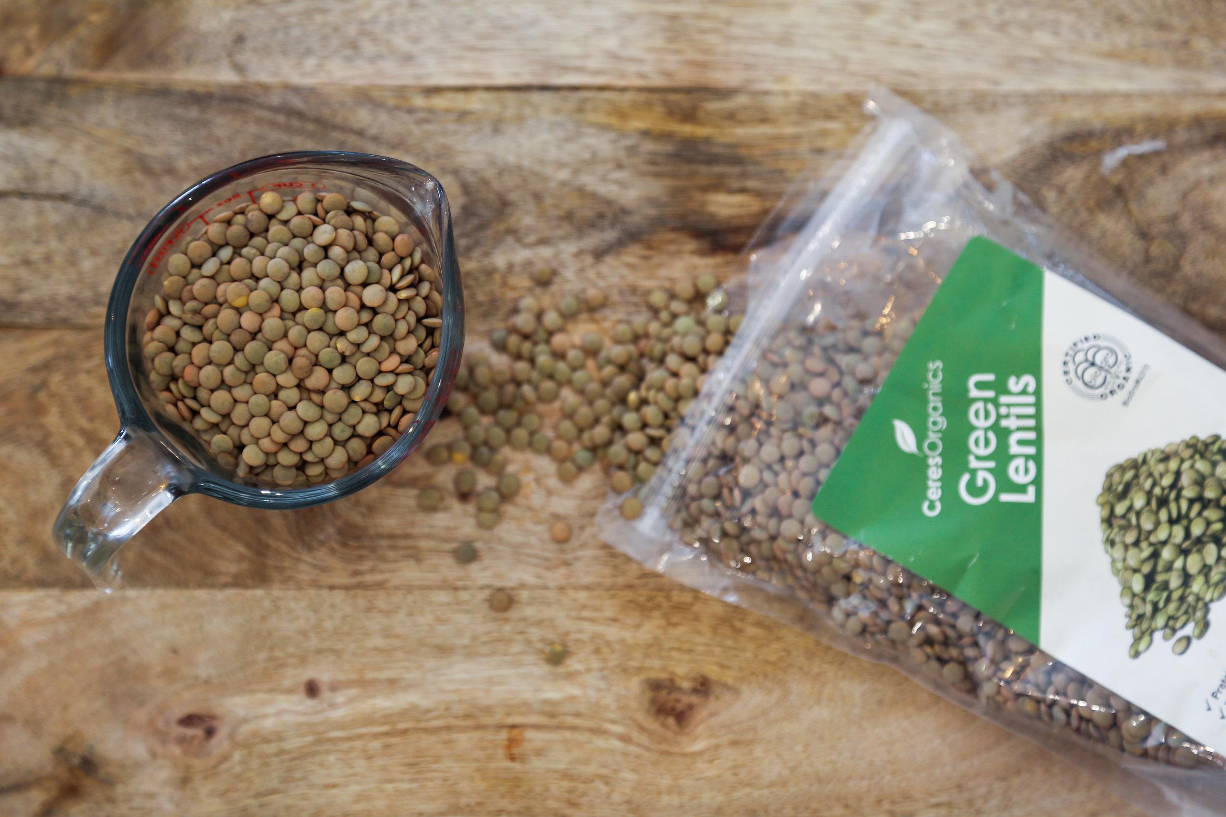 Green lentils are so damn diverse!