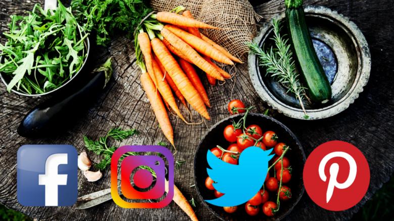 Vegans on  Facebook - Instagram - Twitter - Pinterest