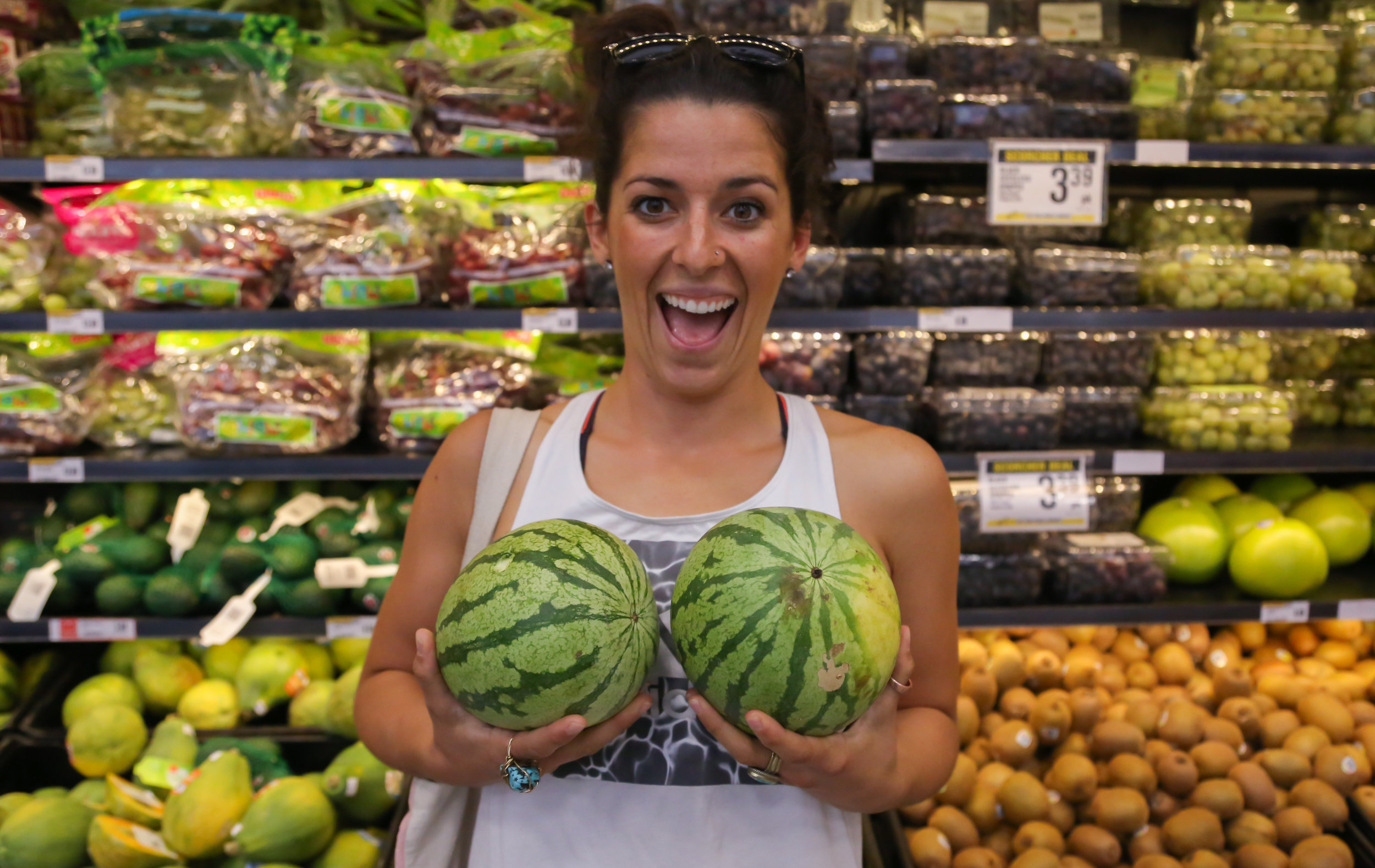 Gotta hold up those melons ;)