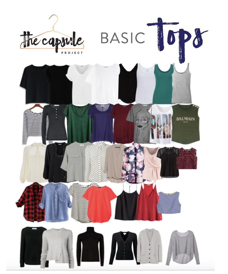 More than enough tops to cover every occasion!