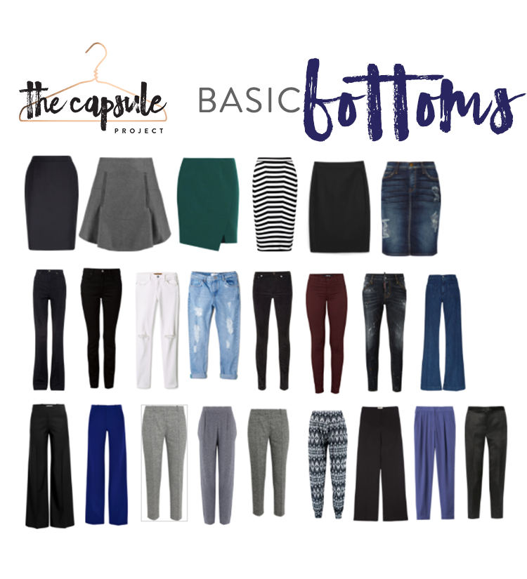 All the basic bottoms you'd ever need!