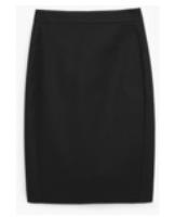 summer work skirt