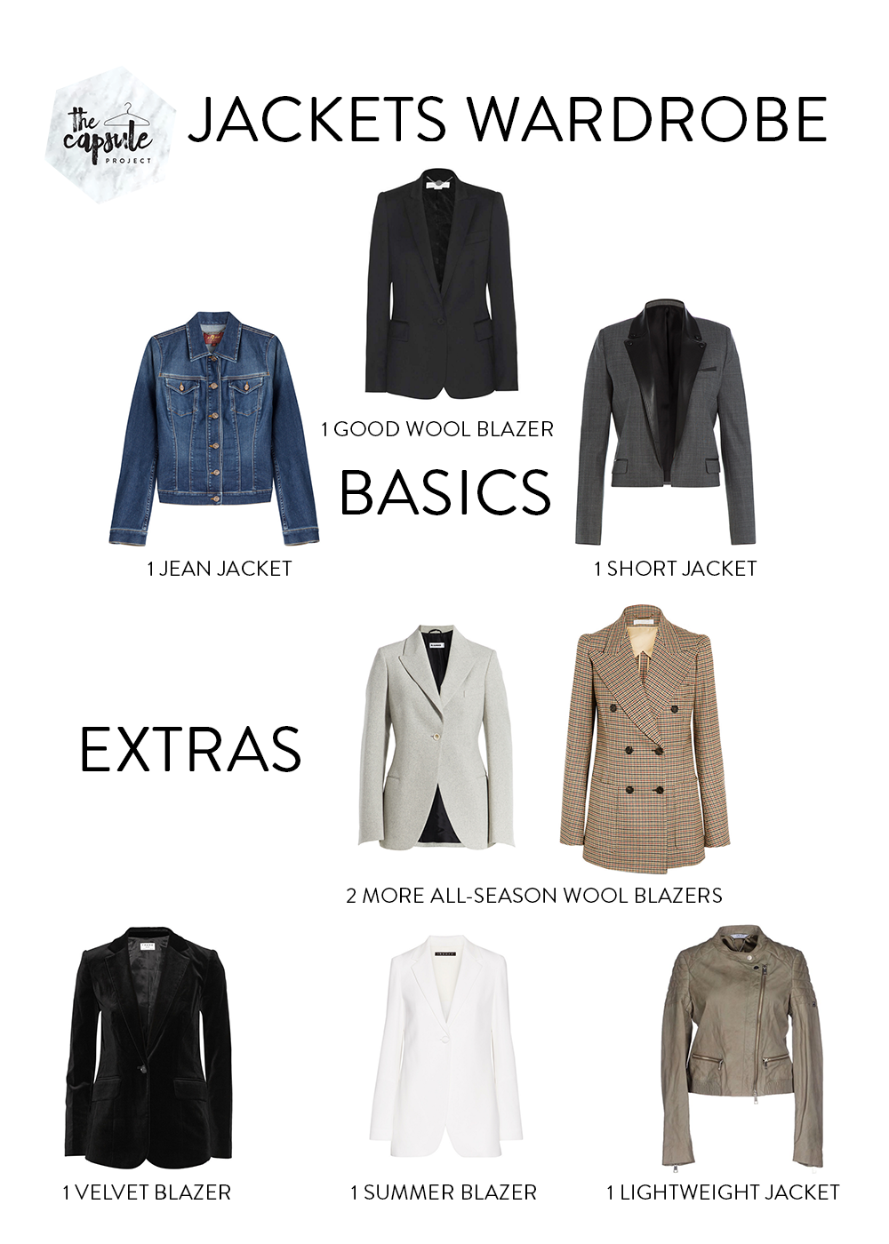 These jackets will last for years and carry you from season to season!
