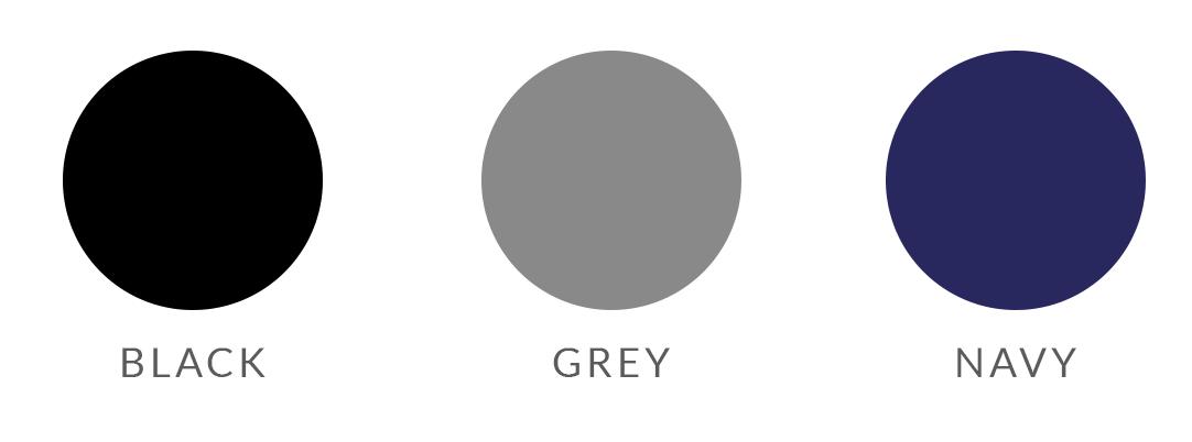 Capsule wardrobe neutral base colors