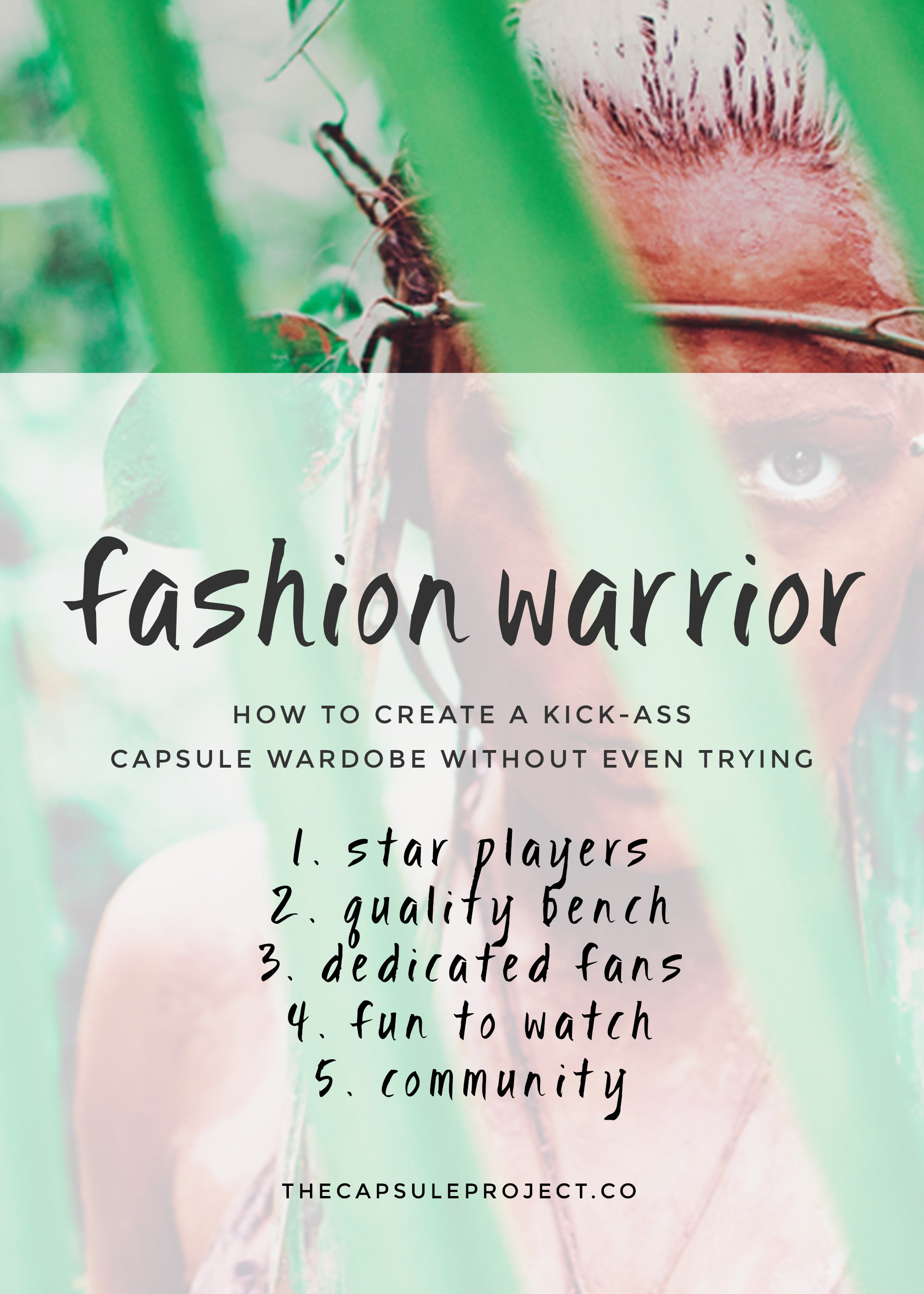 The simplest way to create a capsule wardrobe.