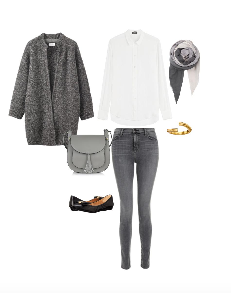 Minimalist Wardrobe Challenge Outfit Idea
