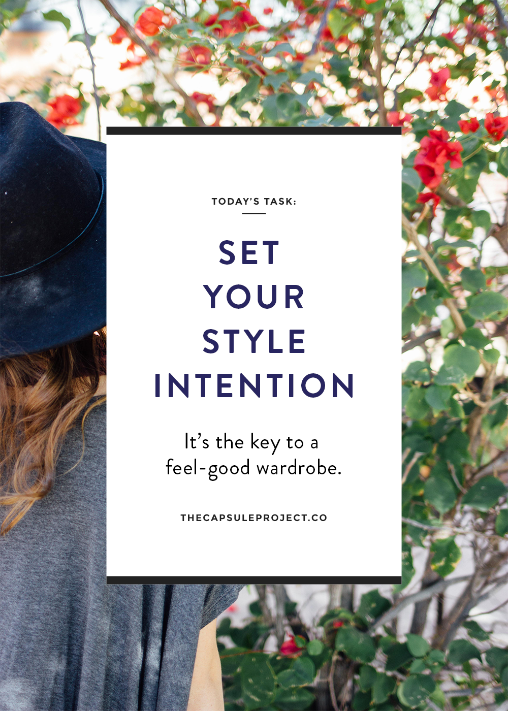 Set your Style Intention for a purposeful closet and capsule wardrobe