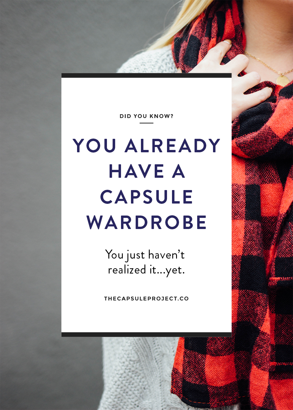 You Already Have a Capsule Wardrobe