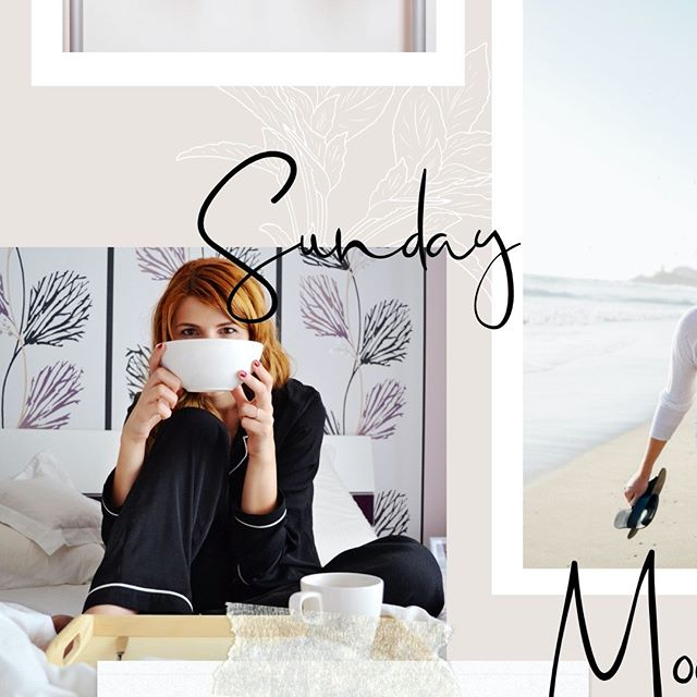 "Sundays are for relaxing. I've never been much of a ""Sunday Funday"" person for some reason. I prefer to take it easy, relaxing at home, as I gear up mentally and emotionally for the week ahead. How do you do Sundays?"
