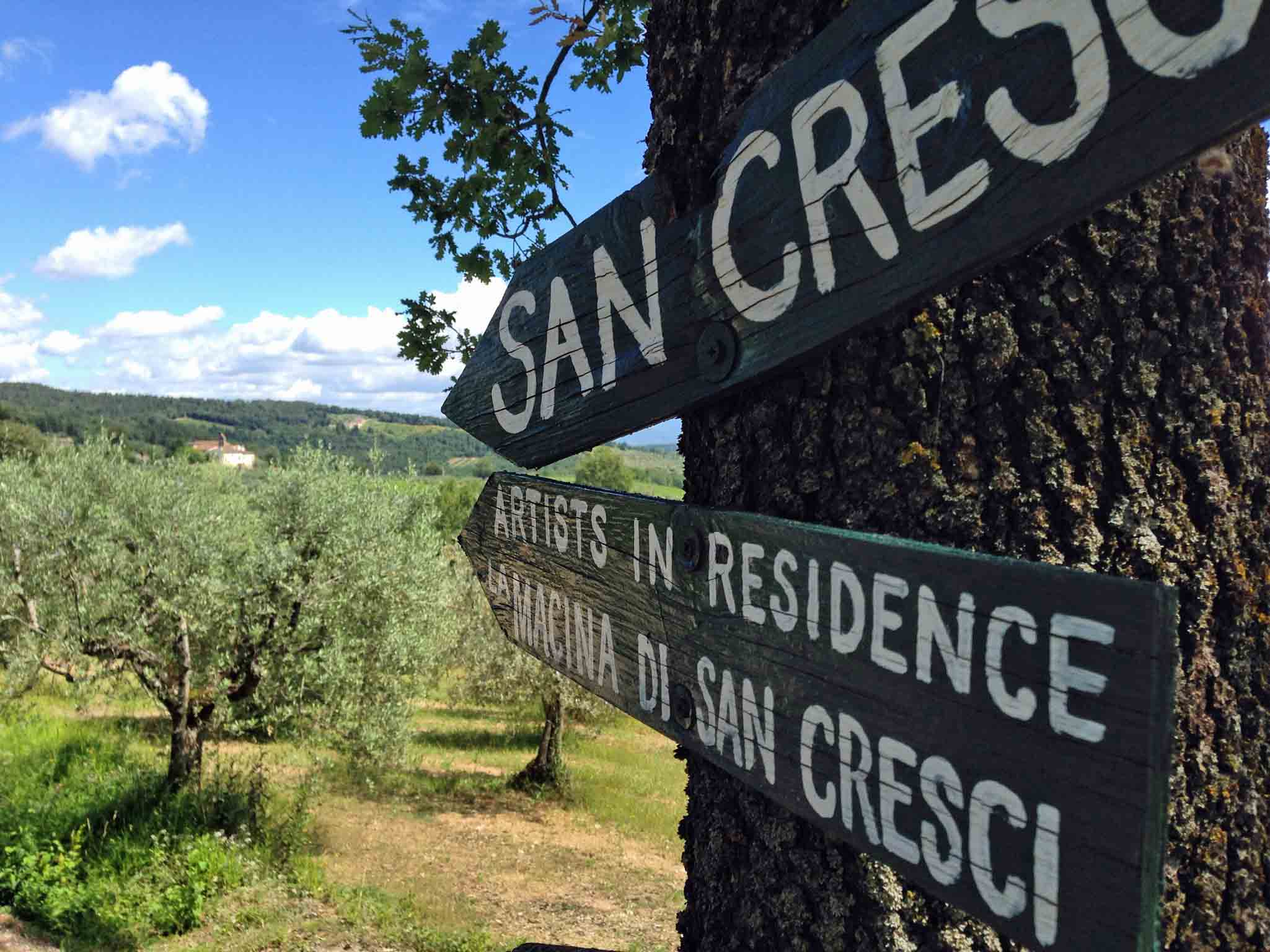 San Cresci this way