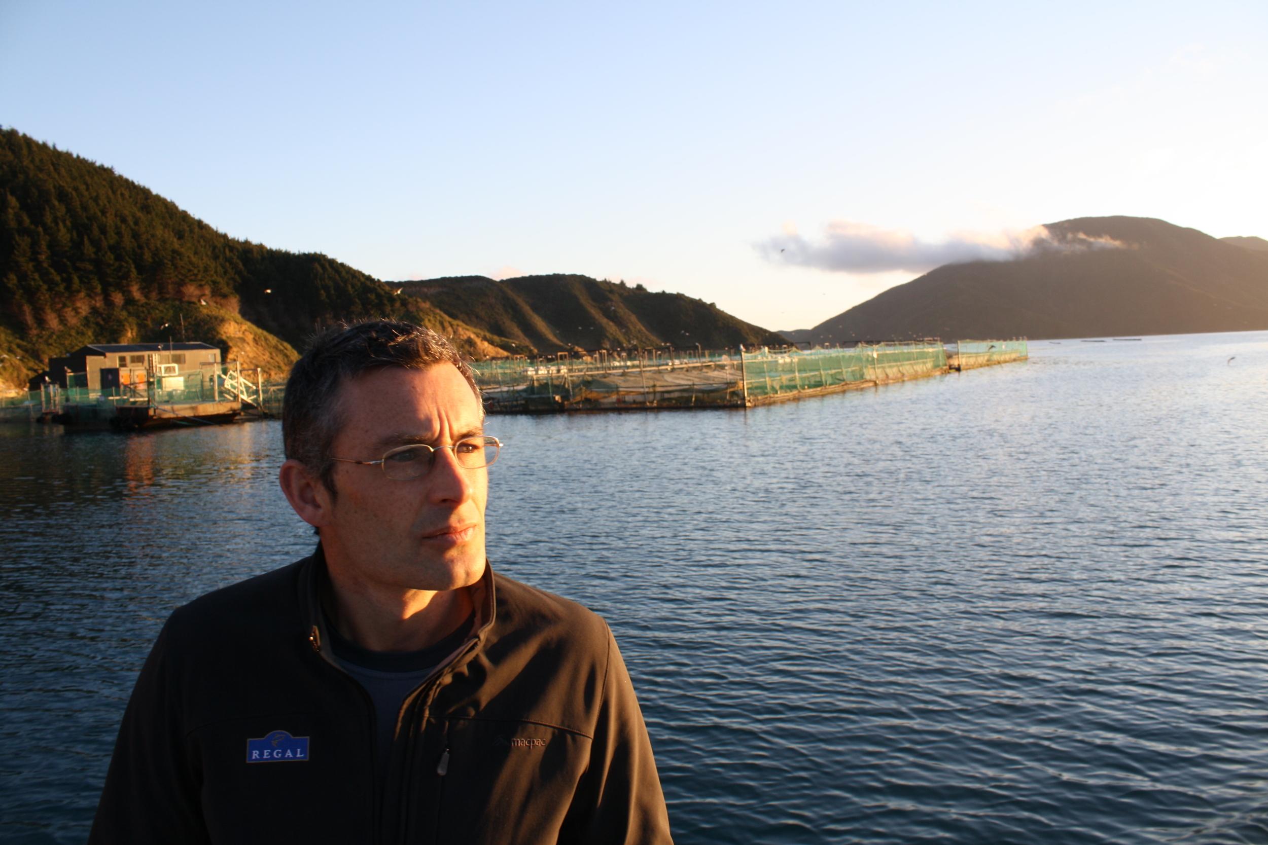 Mark Preece, New Zealand King Salmon